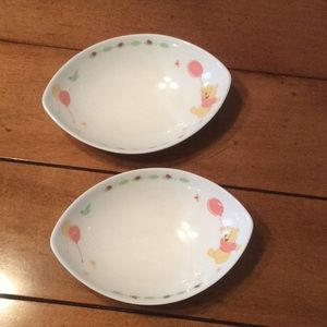 Winnie the Pooh dishes from Tokyo Disney resort